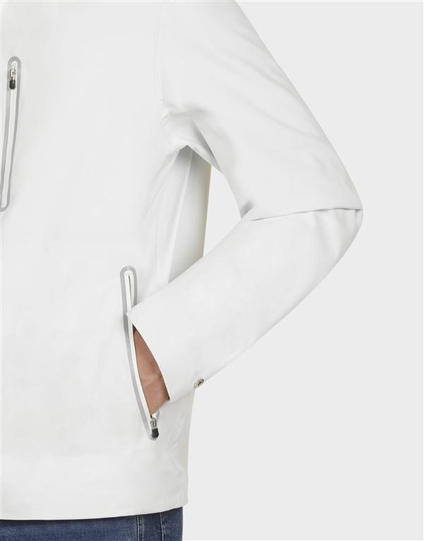 Save The Duck - Giubbotti - antipioggia d3043m grin8 white 2