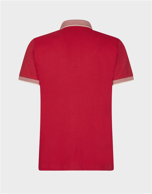 Save The Duck - Polo - polo dr050m pico8 tomato red 1