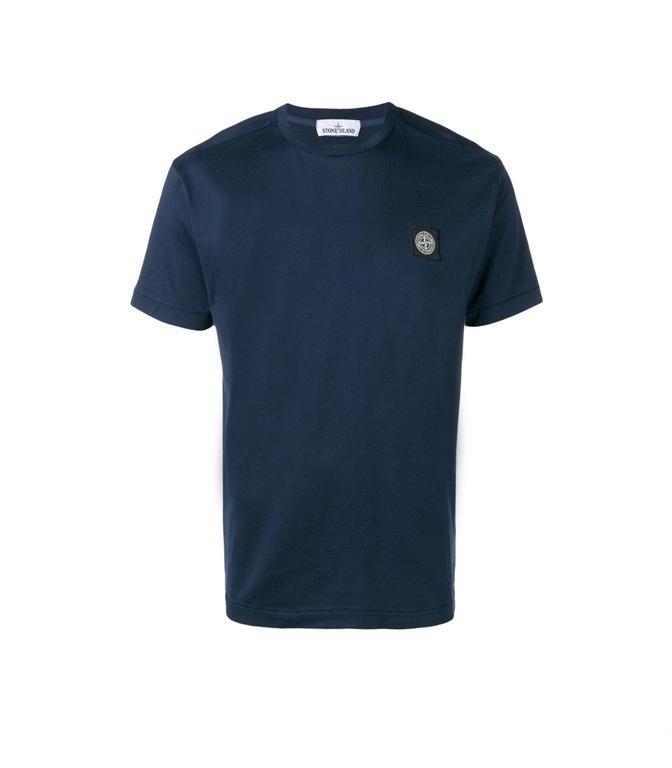 Stone Island - T-Shirt - T-SHIRT BLU MARINE
