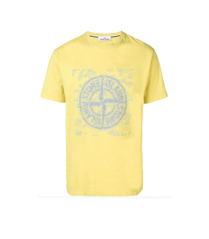 Stone Island - T-Shirt - T-SHIRT GRAPHIC TWO GRANO