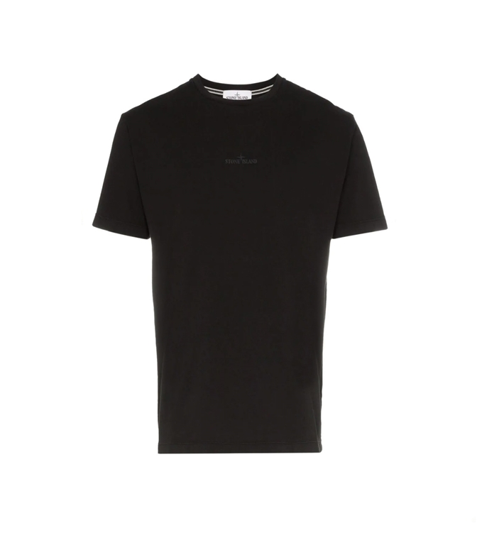 Stone Island - T-Shirt - t-shirt graphic seven nera