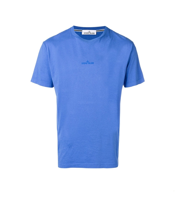 Stone Island - T-Shirt - T-SHIRT GRAPHIC SEVEN PERVINCA