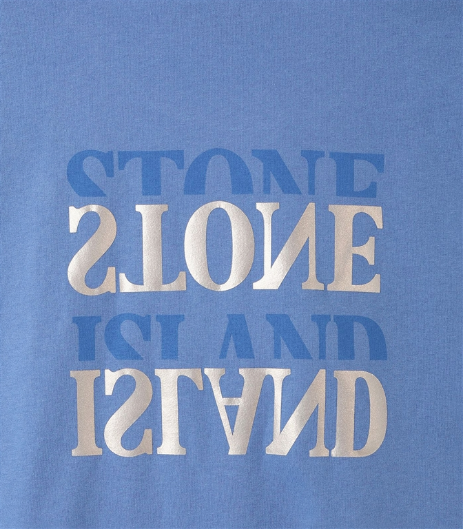 Stone Island - T-Shirt - t-shirt graphic seven pervinca 1
