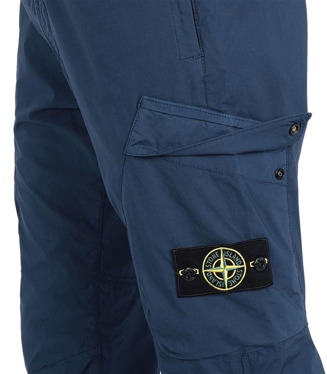 Stone Island - Pantaloni - pantalone cargo blu marine 1