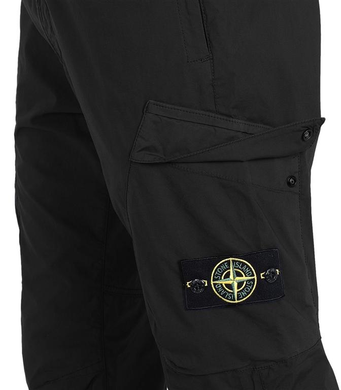 Stone Island - Pantaloni - pantalone cargo nero 1