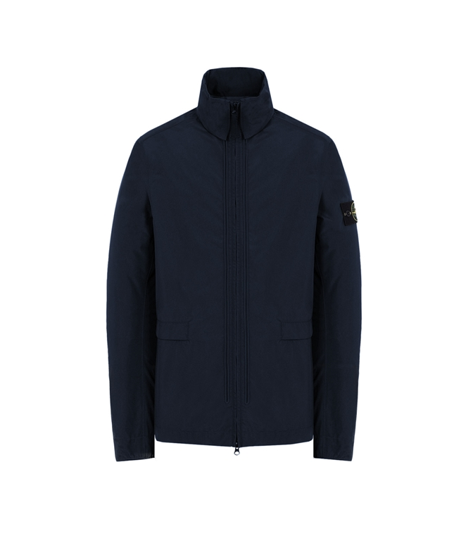 Stone Island - Giubbotti - gore-tex with paclite product technology_packable blu