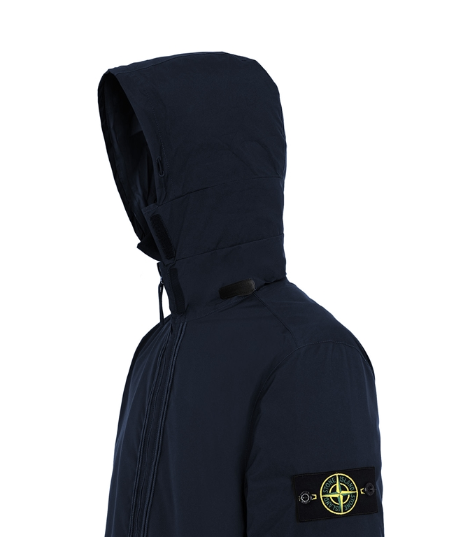 Stone Island - Giubbotti - gore-tex with paclite product technology_packable blu 1