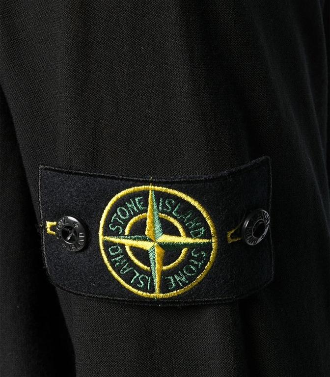Stone Island - Maglie - maglia girocollo nera 1