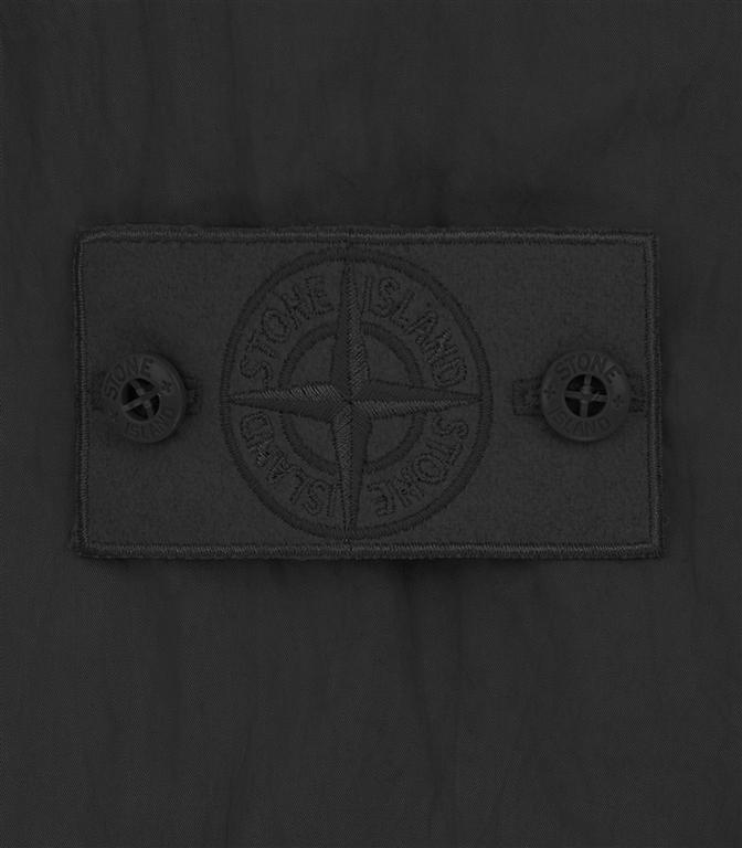 Stone Island - Felpe - ghost piece - cotton nylon tela nera 1