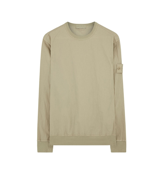 Stone Island - Felpe - ghost piece - cotton nylon tela beige