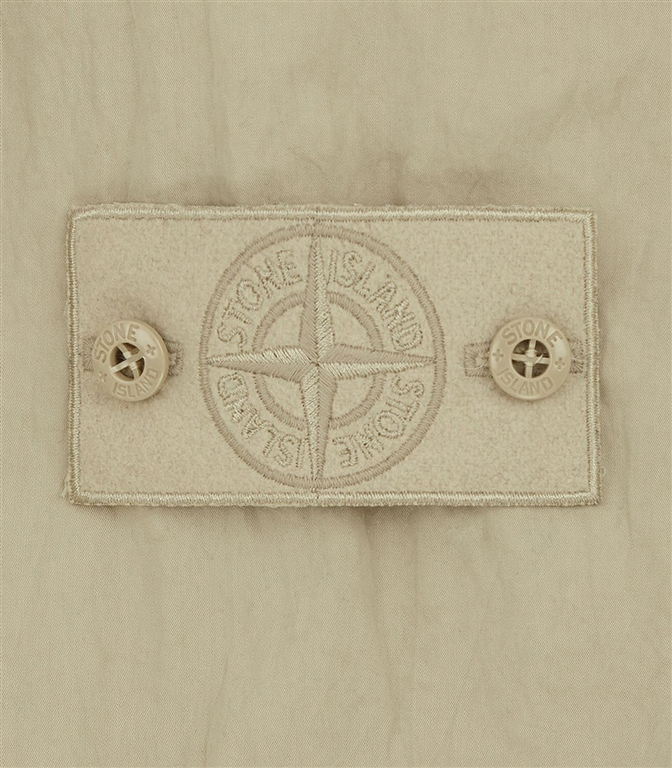 Stone Island - Felpe - ghost piece - cotton nylon tela beige 1