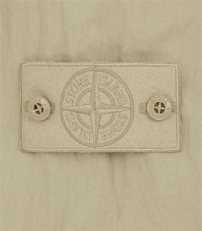 Stone Island - Felpe - ghost piece - cotton nylon tela beige 1