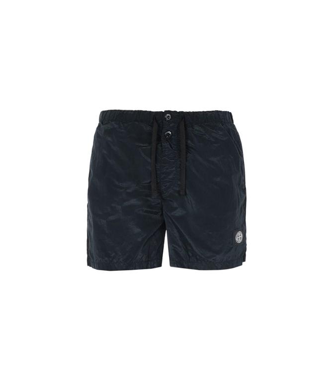 9c0df8ab2b B0643 NYLON METAL SWIMMING SHORT BLACK Stone Island - Swimwear