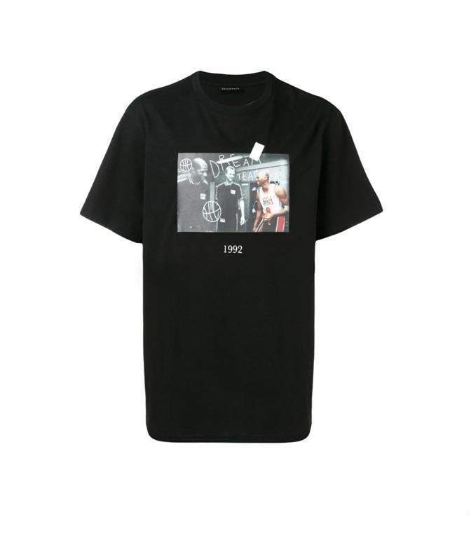 Throwback - T-Shirt - t-shirt olympic black