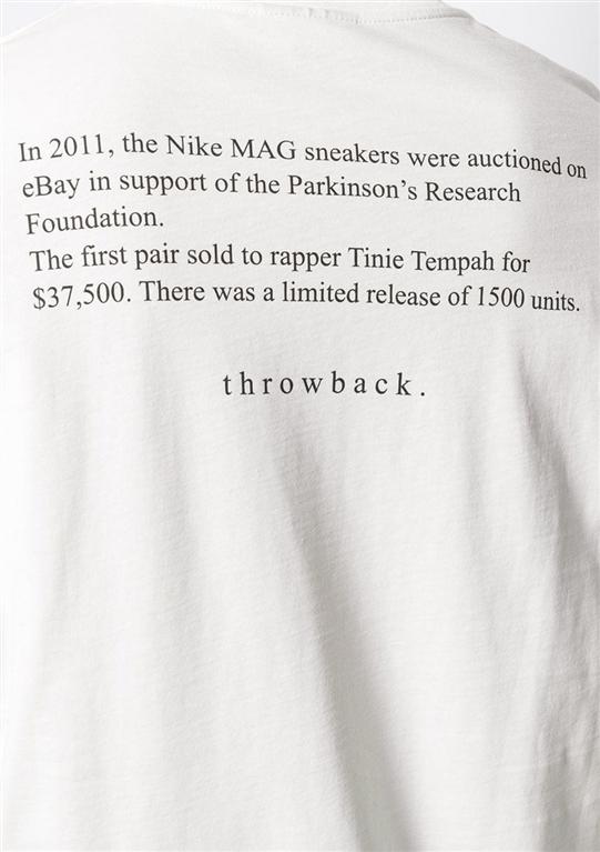 Throwback - T-Shirt - t-shirt marty white 1