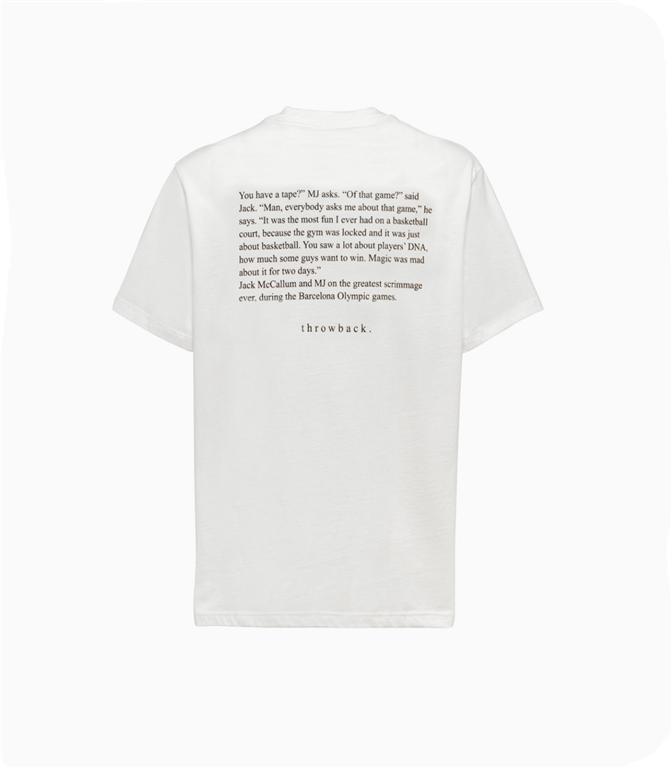 Throwback - T-Shirt - t-shirt olympic white 1