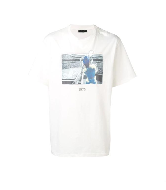 Throwback - T-Shirt - t-shirt stadium white