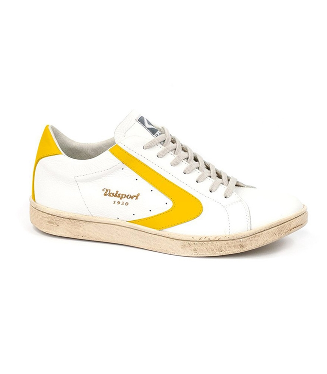 Valsport - Scarpe - Sneakers - tournament nappa bianco/senape
