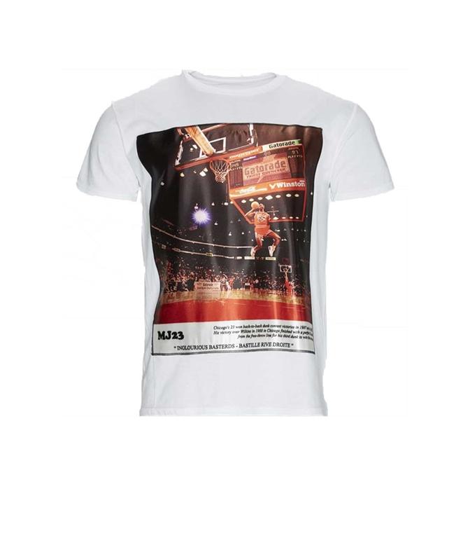 Bastille - T-Shirt - T-SHIRT BASTILLE JORDAN BIANCA