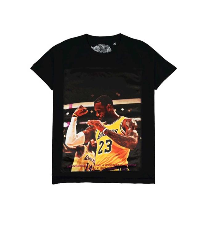 Bastille - T-Shirt - t-shirt bastille lebron nera