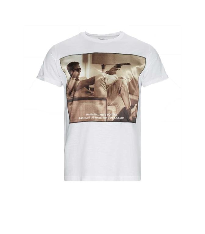 Bastille - T-Shirt - t-shirt bastille stevegun bianca