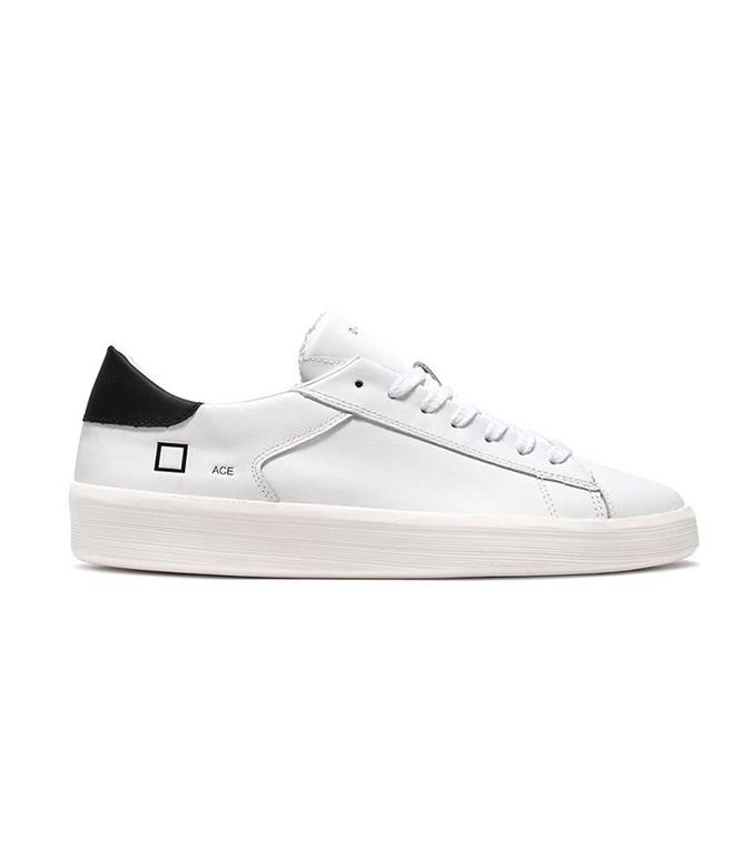 D.A.T.E. - Scarpe - Sneakers - ace calf white-black