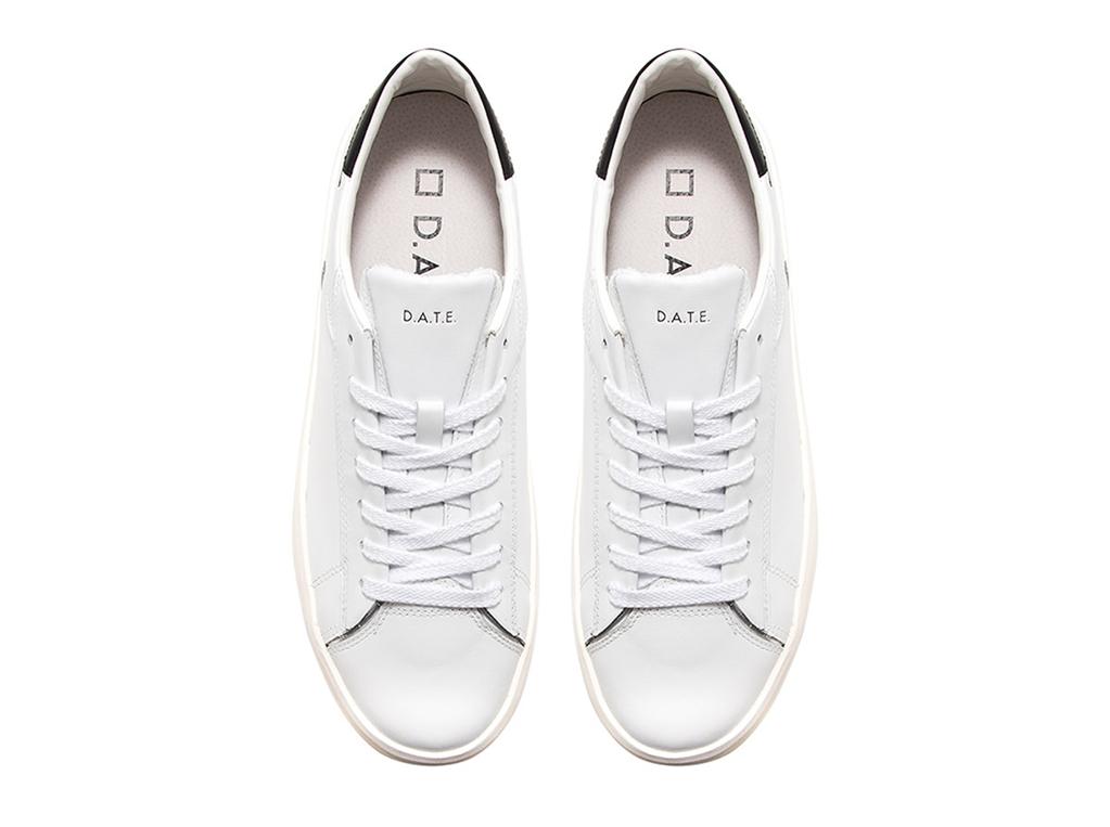 D.A.T.E. - Scarpe - Sneakers - ace calf white-black 1