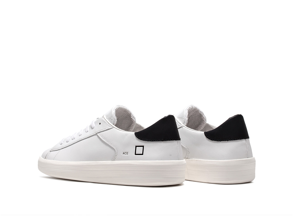 D.A.T.E. - Scarpe - Sneakers - ace calf white-black 2