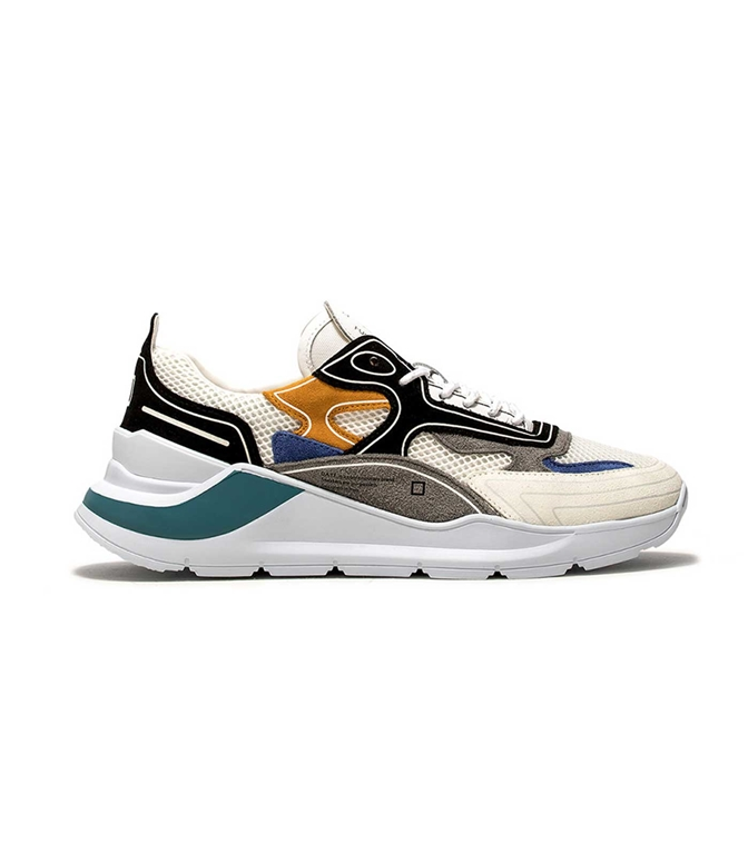 D.A.T.E. - Scarpe - Sneakers - fuga hf black-gray
