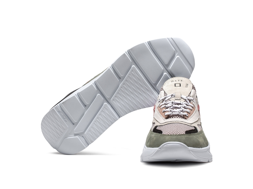 D.A.T.E. - Scarpe - Sneakers - fuga mesh white 1