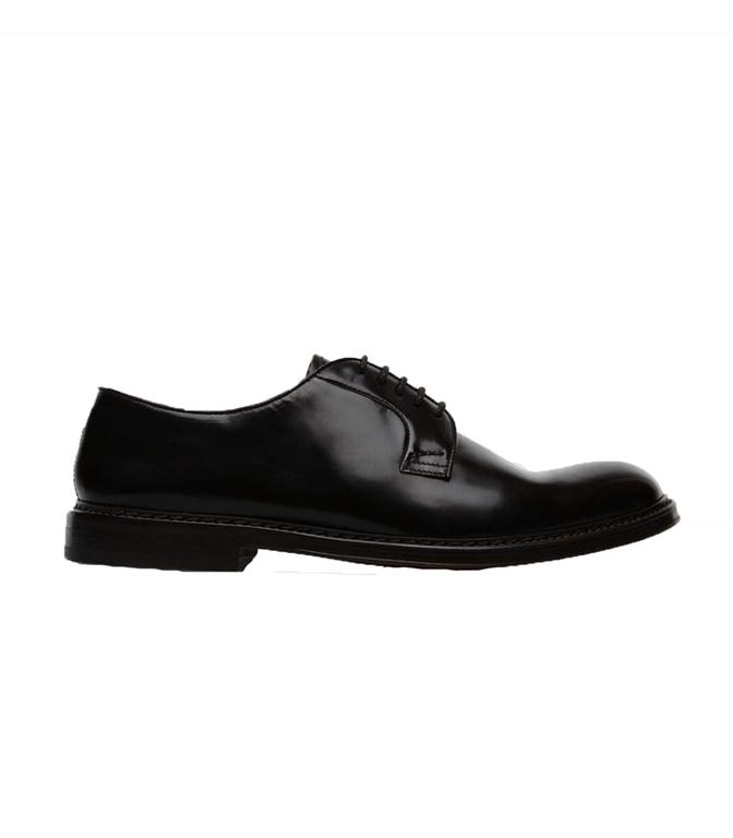 Doucal's - Scarpe - Sneakers - gianni derby in pelle nera
