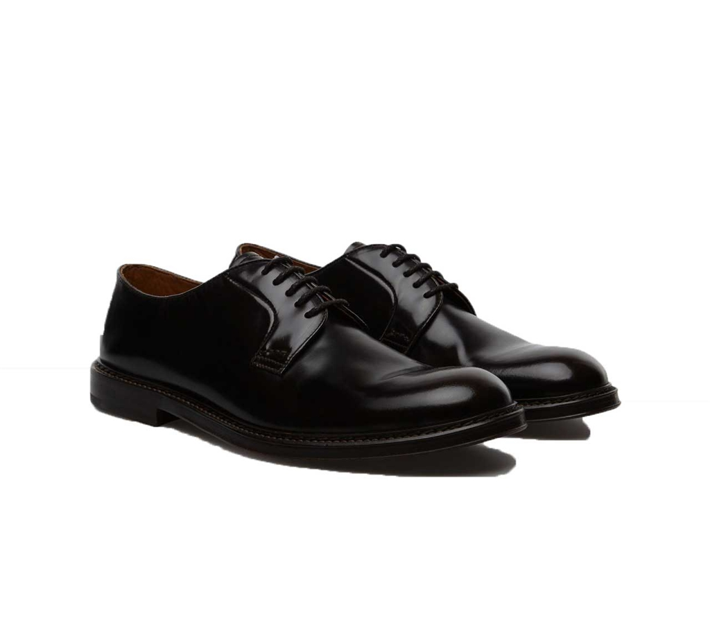Doucal's - Scarpe - Sneakers - gianni derby in pelle nera 1