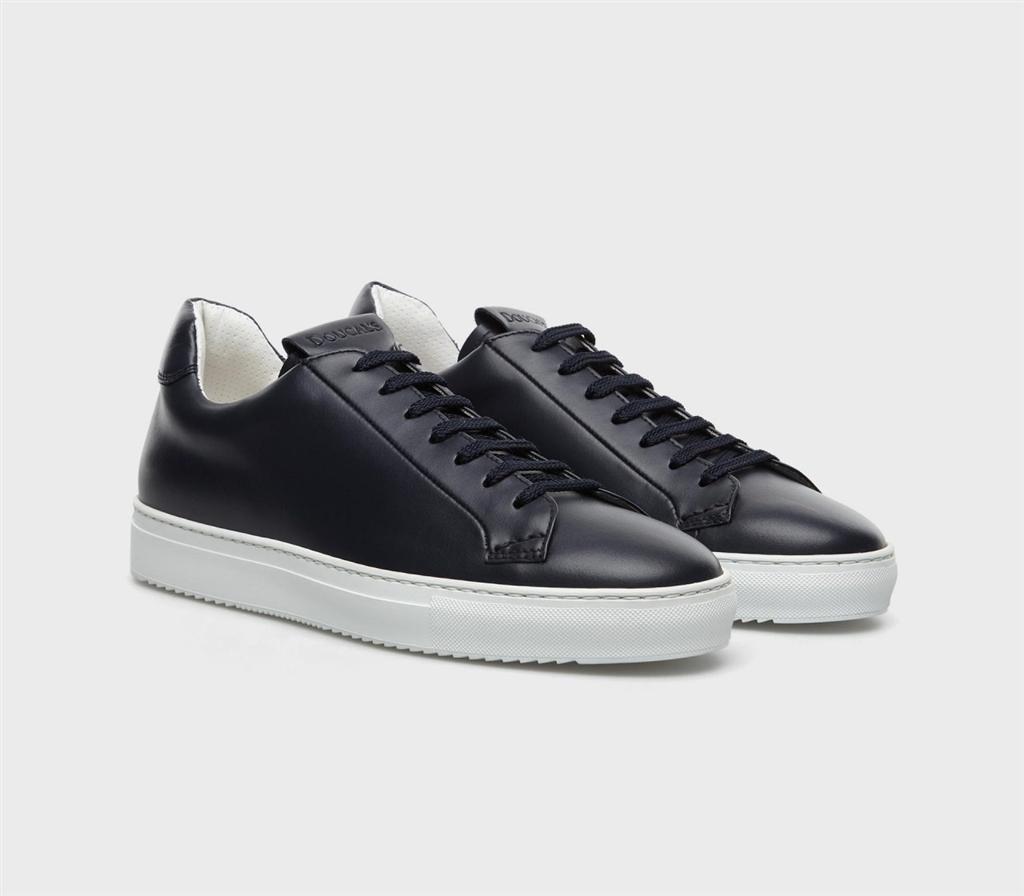 Doucal's - Scarpe - Sneakers - kobe sneaker pelle blu 1