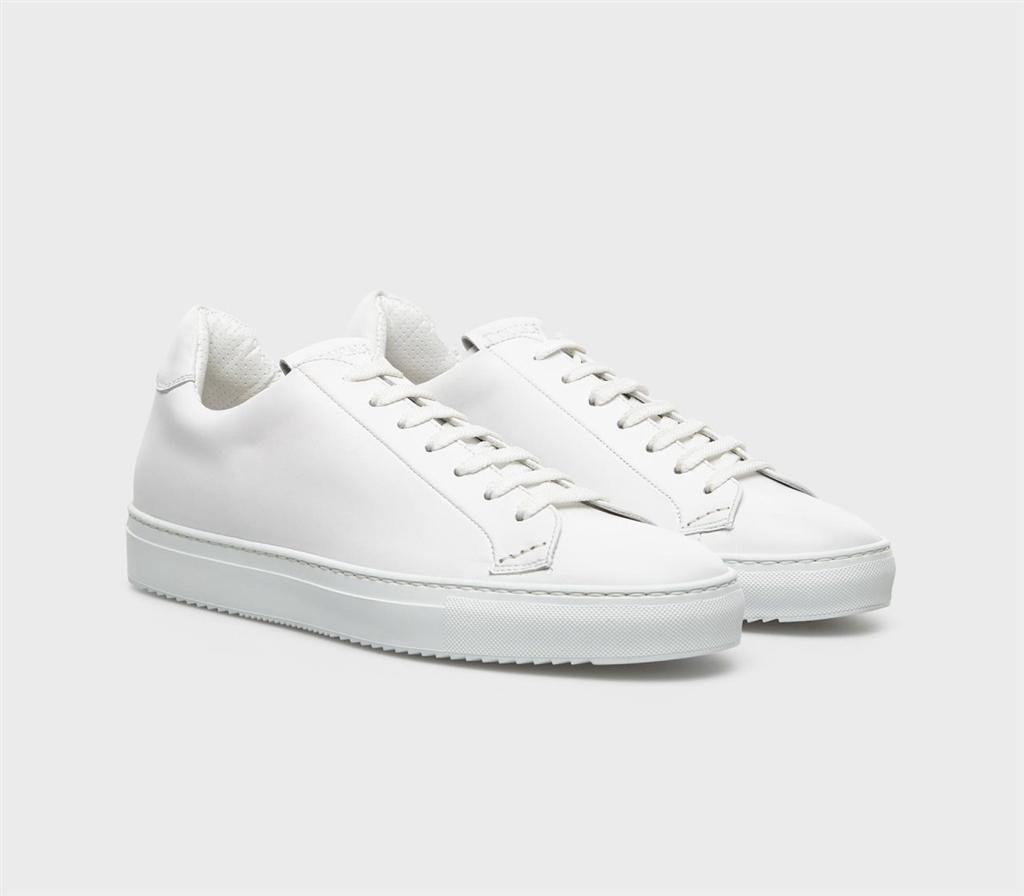 Doucal's - Scarpe - Sneakers - kobe sneaker pelle bianca 1