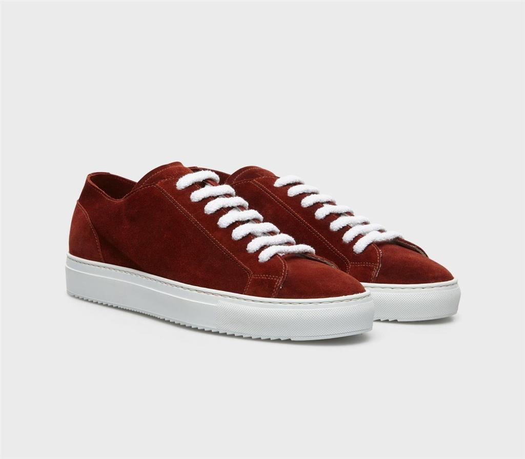 Doucal's - Scarpe - Sneakers - andrew sneaker in suede brick 1
