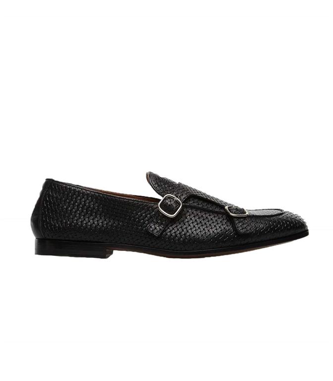 Doucal's - Scarpe - Sneakers - frank mocassino doppia fibbia nero