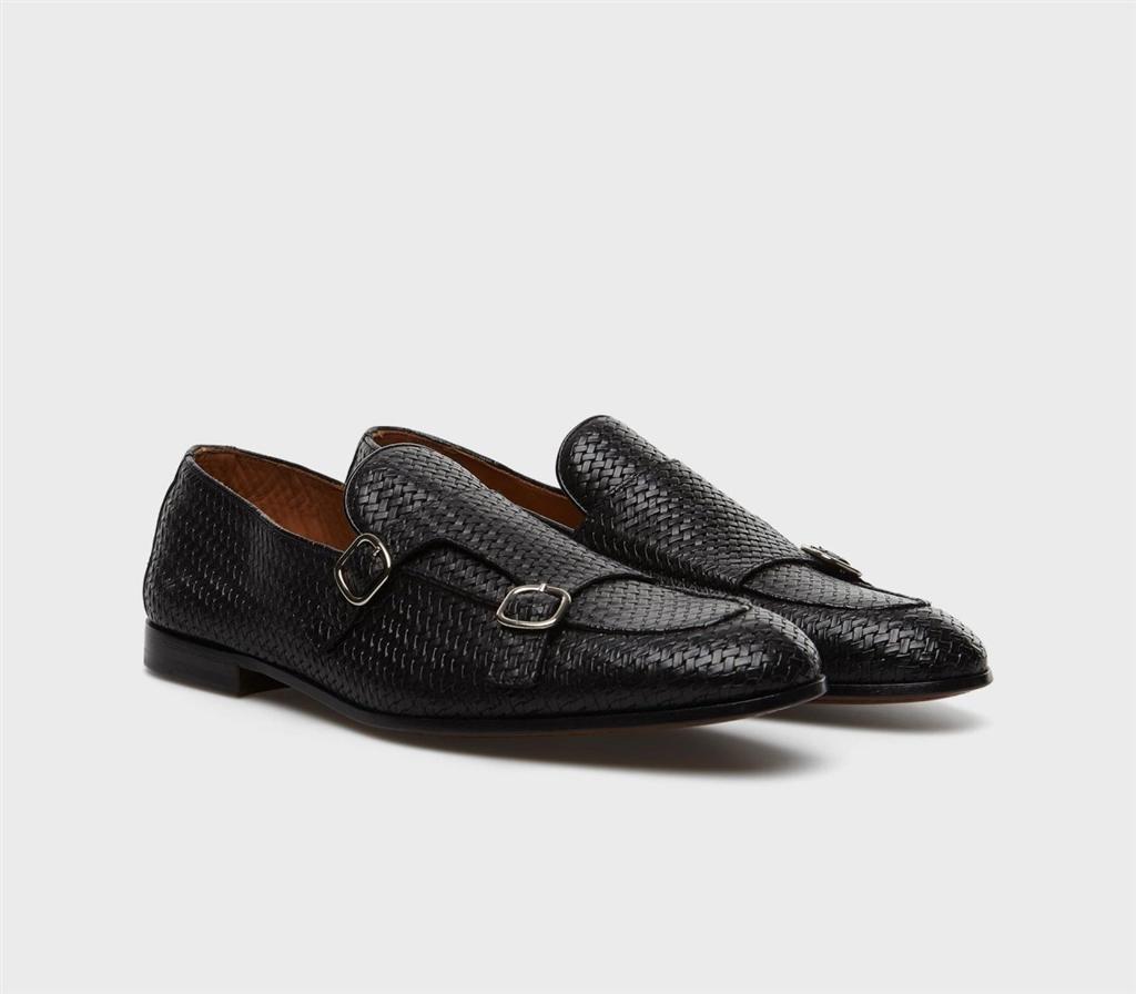 Doucal's - Scarpe - Sneakers - frank mocassino doppia fibbia nero 1