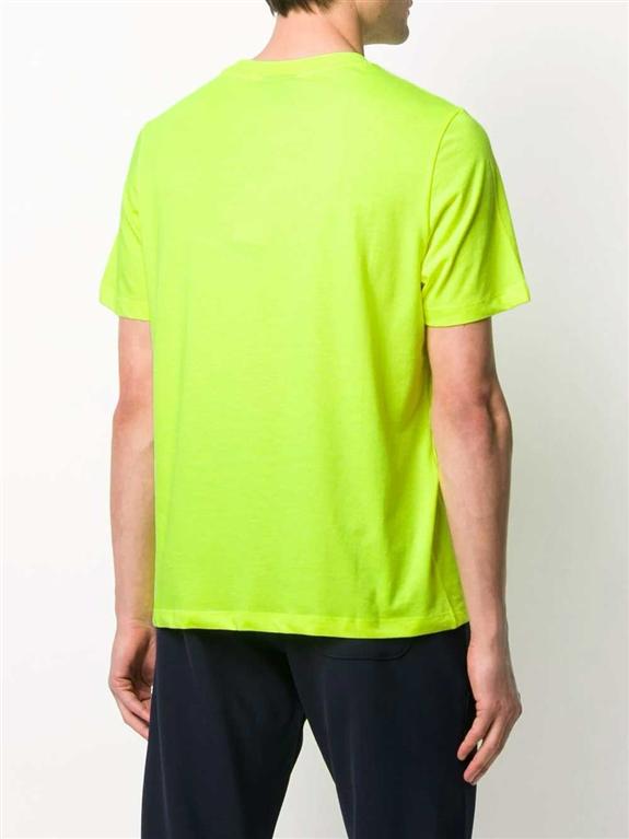 Emporio Armani - T-Shirt - t-shirt con applicazione giallo fluo 1