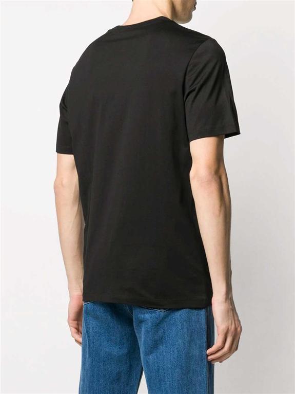 Emporio Armani - T-Shirt - t-shirt con stampa nera 1