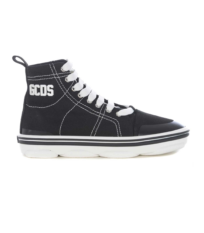 GCDS - Scarpe - Sneakers - sneakers hydra high top nero