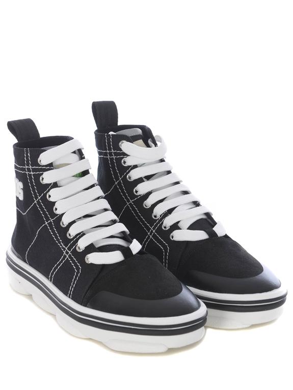 GCDS - Scarpe - Sneakers - sneakers hydra high top nero 1