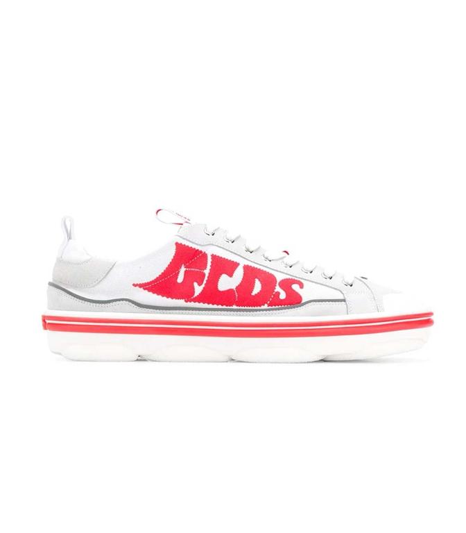 GCDS - Scarpe - Sneakers - SNEAKERS HYDRA LOW TOP BIANCO