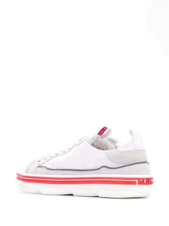 GCDS - Scarpe - Sneakers - sneakers hydra low top bianco 1