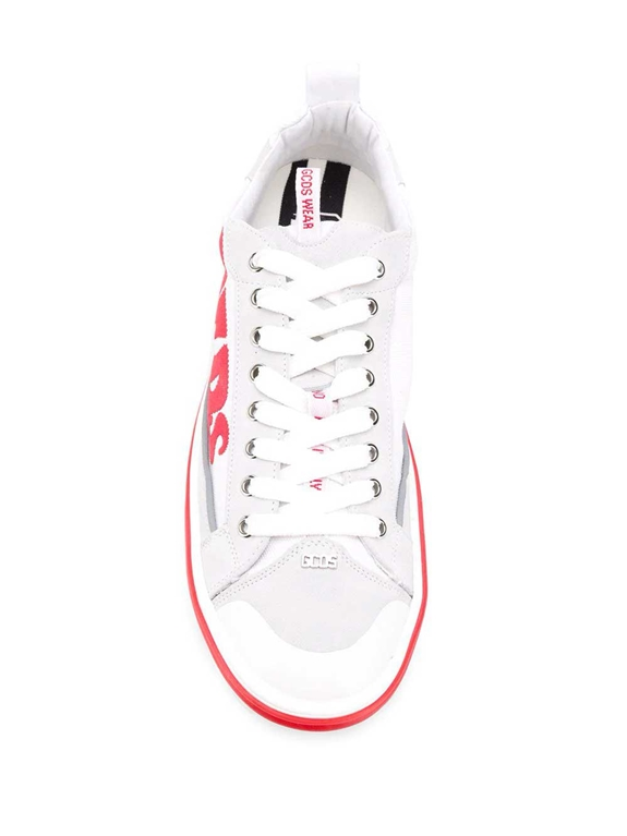 GCDS - Scarpe - Sneakers - sneakers hydra low top bianco 2