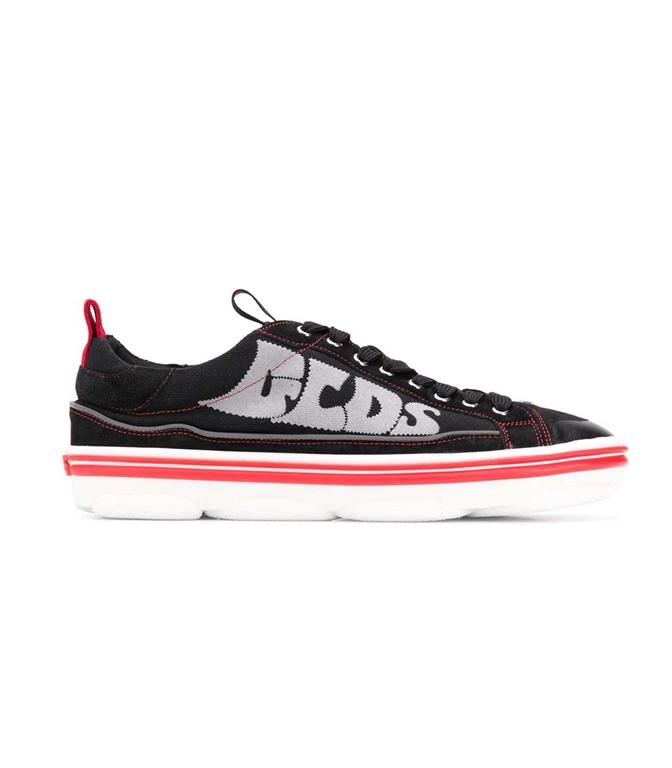 GCDS - Scarpe - Sneakers - SNEAKERS HYDRA LOW TOP NERO