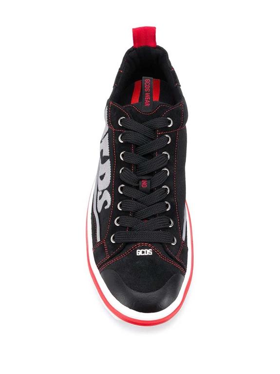 GCDS - Scarpe - Sneakers - sneakers hydra low top nero 2