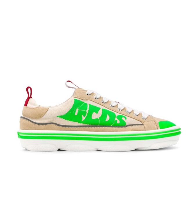 GCDS - Scarpe - Sneakers - sneakers hydra low top beige