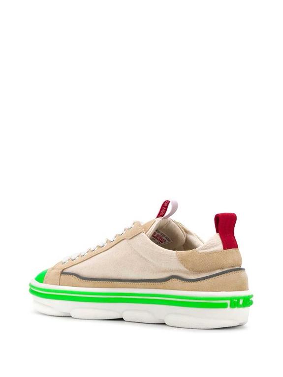 GCDS - Scarpe - Sneakers - sneakers hydra low top beige 1