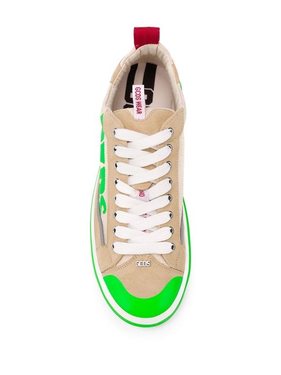 GCDS - Scarpe - Sneakers - sneakers hydra low top beige 2