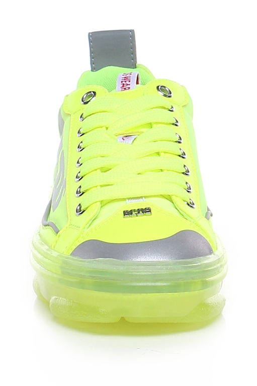 GCDS - Scarpe - Sneakers - sneakers hydra low top giallo fluo 1